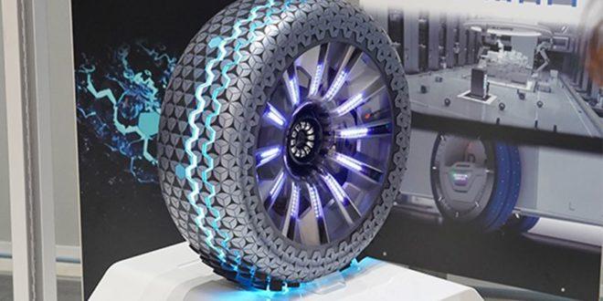 Hankook Hexonic, un pneu connecté pour la voiture du future
