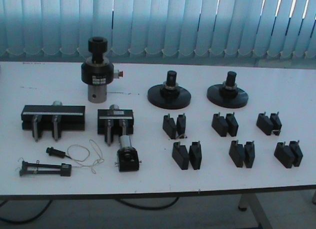 Les accessoires de la machine MTS43